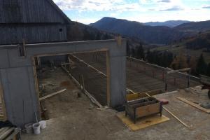 Rinderstall Zu- und Umbau In Oberwölz Krumegg