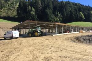 Unterbau Hühnerlegestall in Hüttenberg