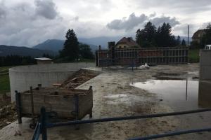 Zubau Rinderstall in Kulm